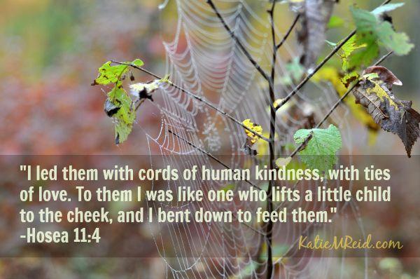 Hosea 11:4 image by Katie M Reid