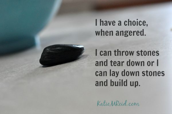 I can throw down or build up by Katie M Reid