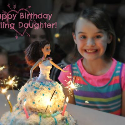 Darling Daughter Turns Nine
