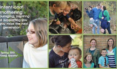 Intentional Mothering:  Praying on Purpose