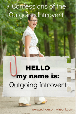 Outgoing introvert image by Katie M. Reid