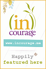 Happily Featured Button for incourage