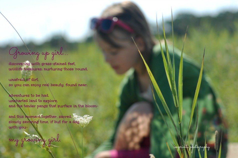 Poem about girl growing up by Katie M. Reid