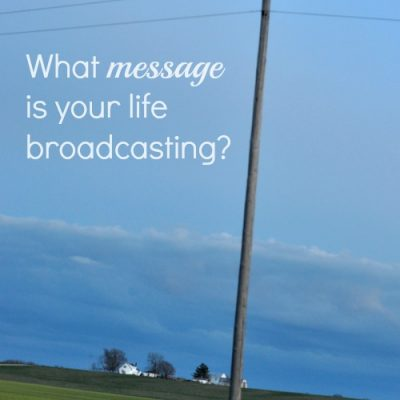 Broadcasting Your Heart's Message (Giveaway)