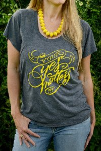 Your Yes Matters Shirt from Mercy House Kenya Store