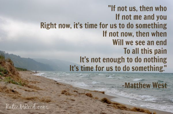 Do Something lyrics by Matthew West