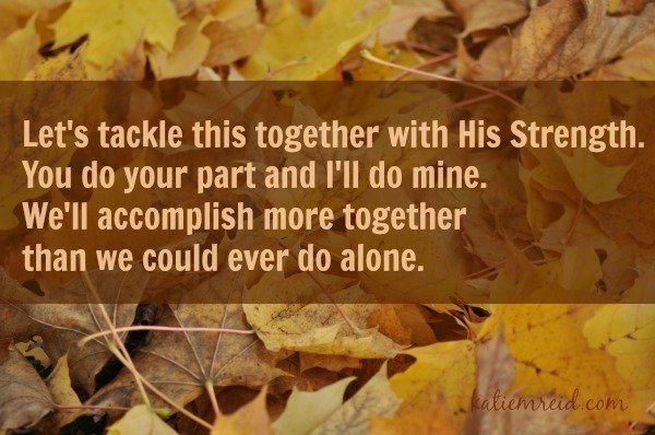 We can do more together by Katie M. Reid