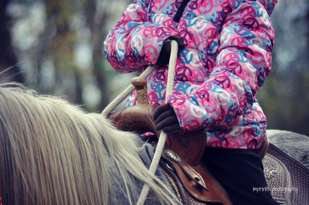 Girl on Horse by Katie M. Reid