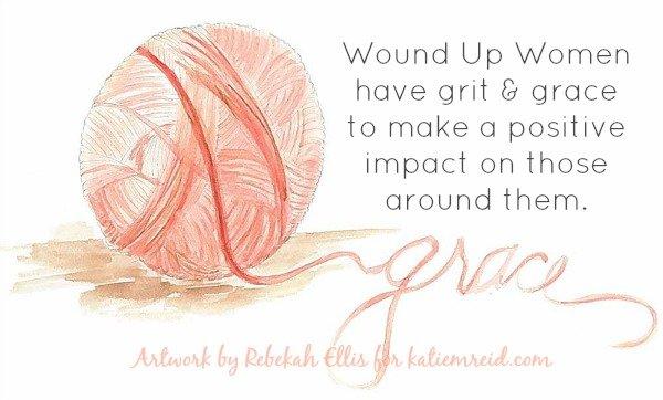 Grit and Grace art by Rebekah Ellis for katiemreid.com