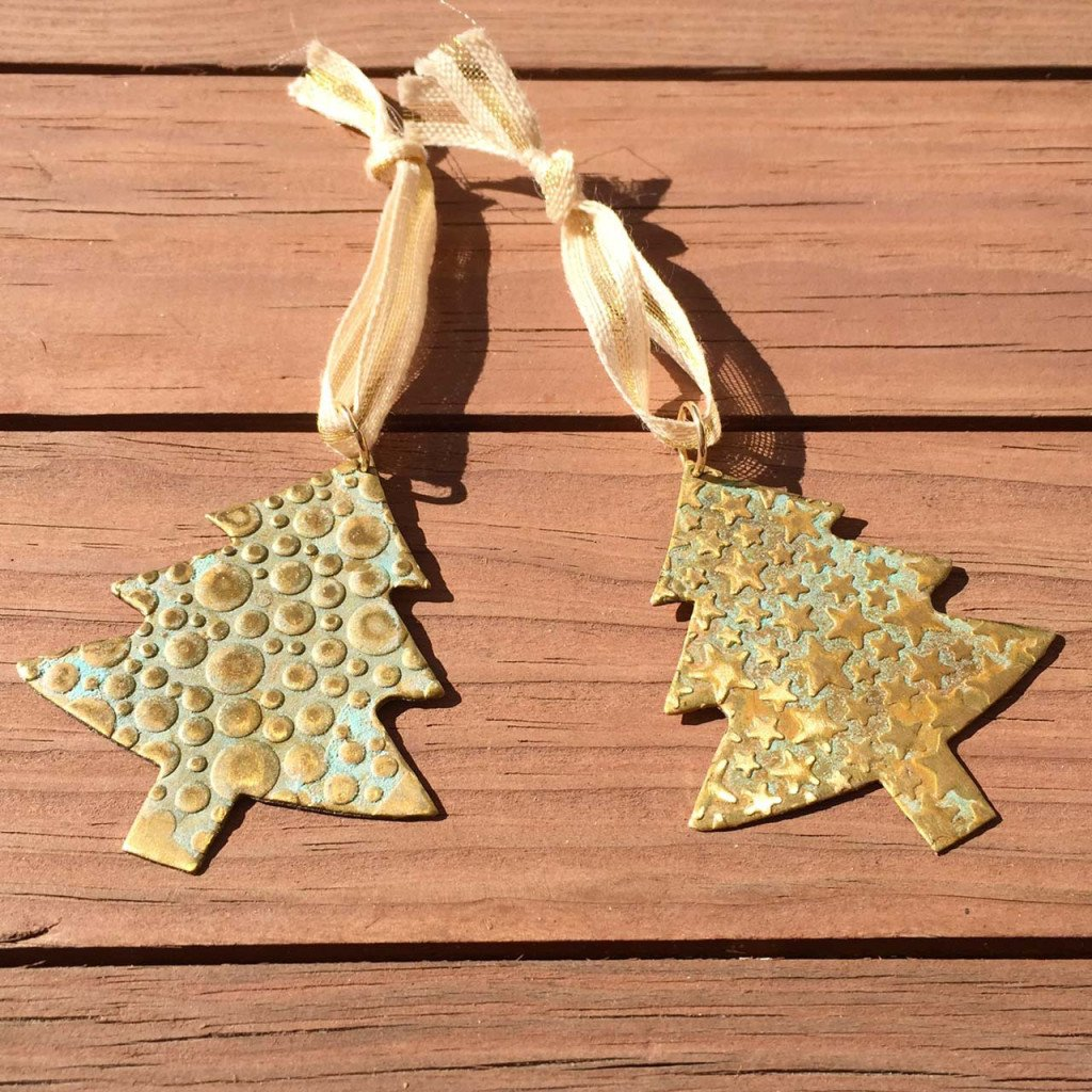 Christmas tree ornaments from Fashion and Compassion