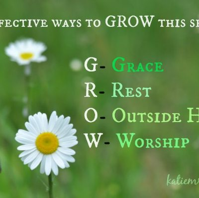 G.R.O.W. in Grace and Faith