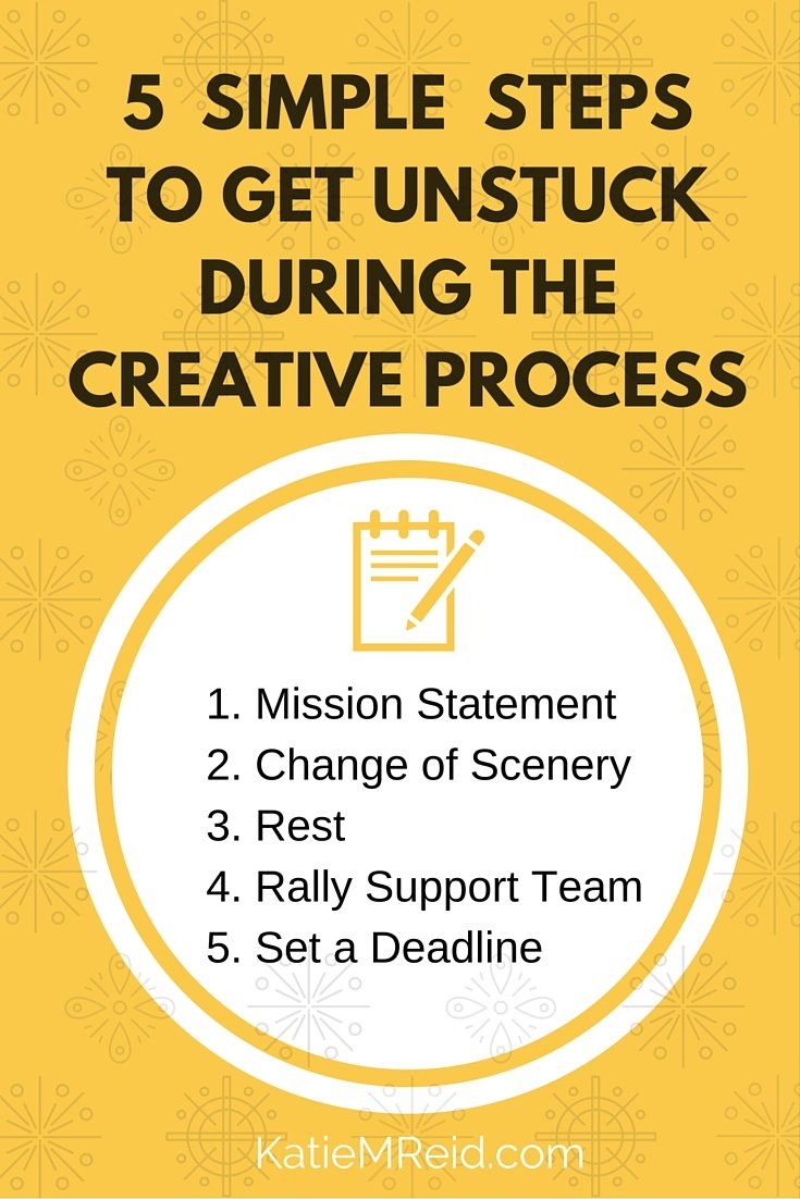 What to Do When You're Stuck on a Creative Project