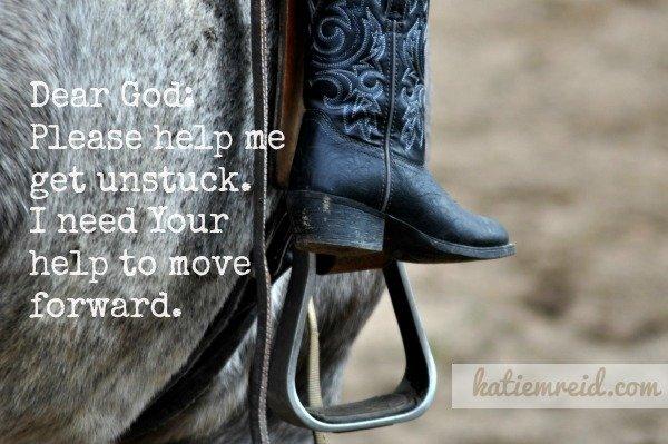 Help me get unstuck God by Katie Reid