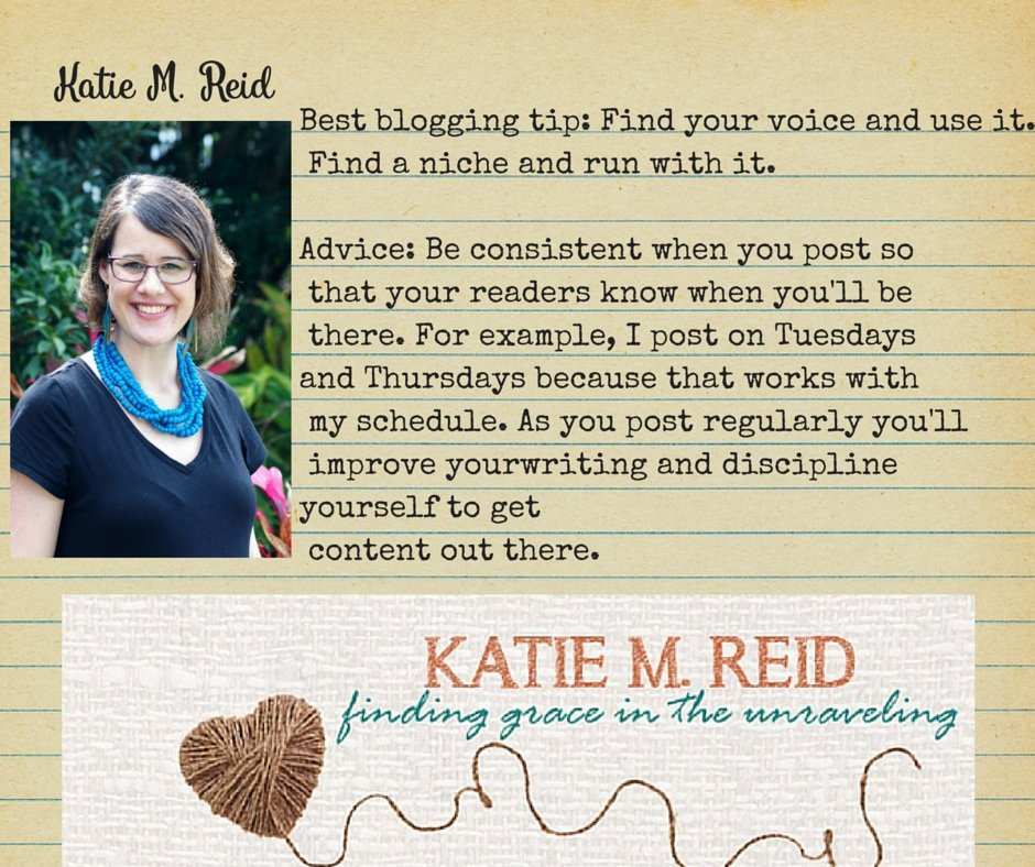 Basic Blogging Tips by Katie M Reid