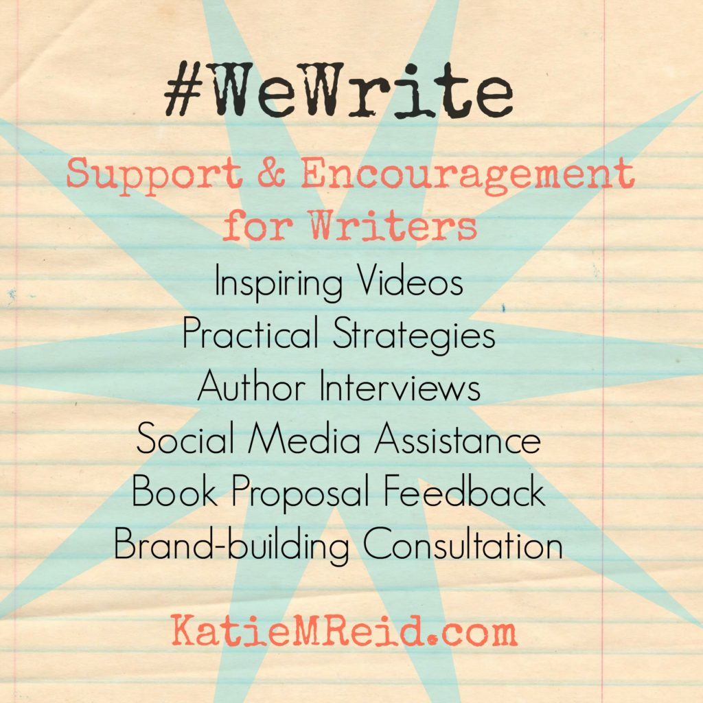 We Write Community hosted by Katie M Reid