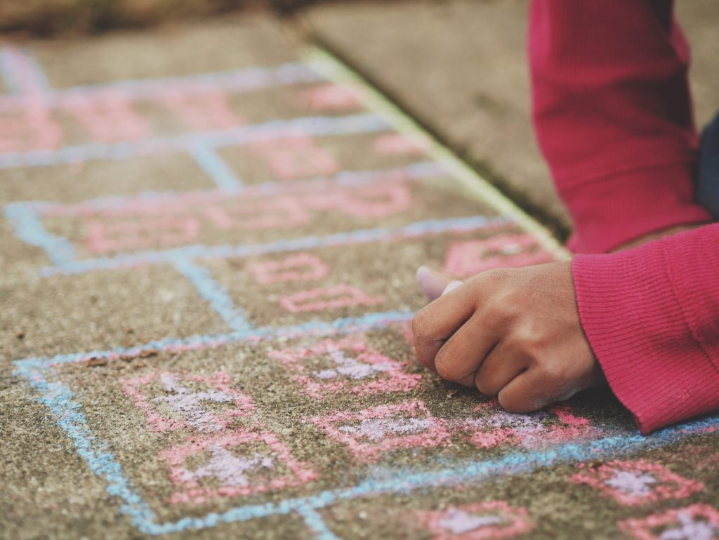 Chalk drawing via Creative Commons