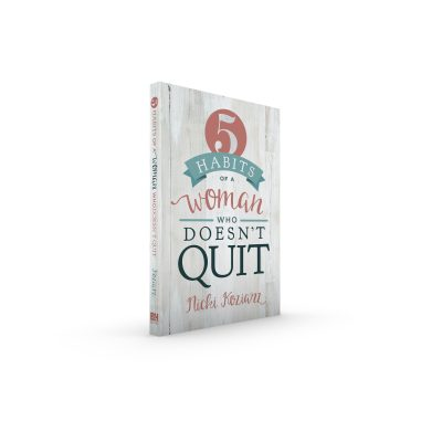 Interview with Nicki Koziarz (Author of 5 Habits of a Woman Who Doesn't Quit)
