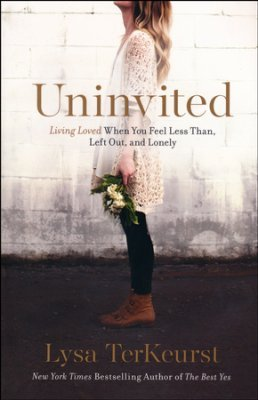 Uninvited book cover Lysa TerKeurst