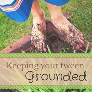Grounded: A 31 days series for mothers of tweens by Katie M. Reid