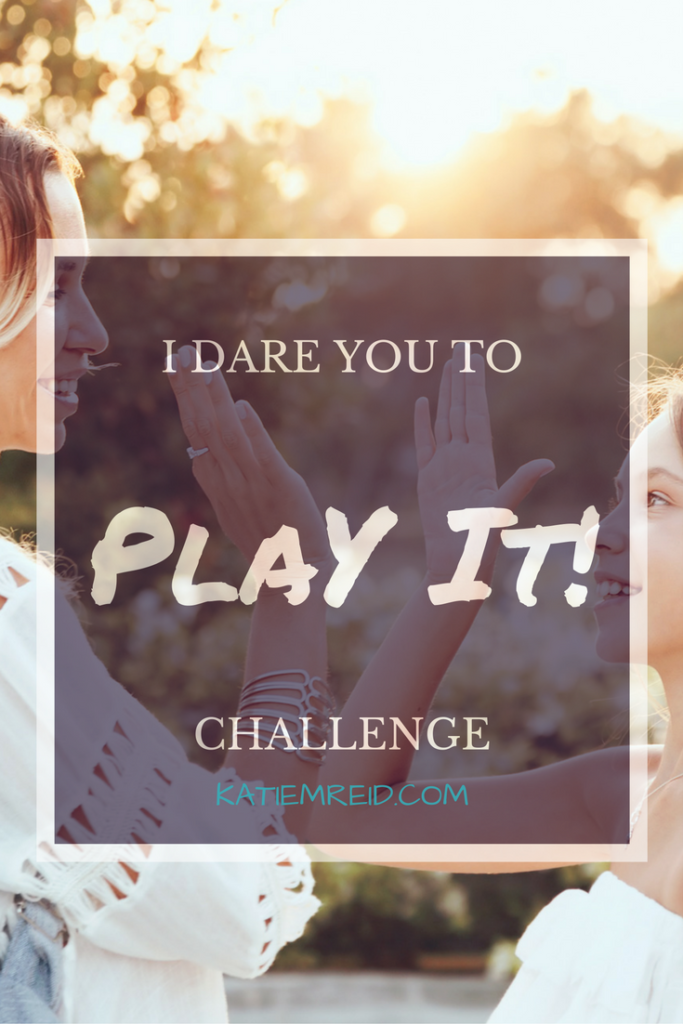 I dare you to play it challenge for the Grounded Series