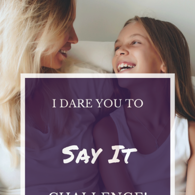 Grounded: I Dare You to Say It! Challenge