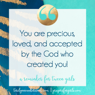 Grounded: A Reminder for Tween Girls (Guest Post by Teri Lynne Underwood)