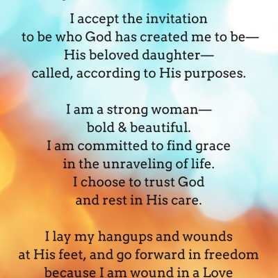 Dear Tightly Wound Woman: Freedom Gift