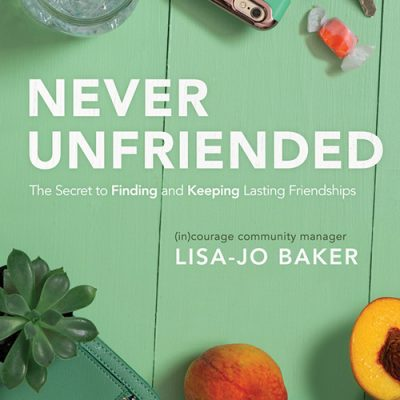Interview with Lisa-Jo Baker (Author of Never Unfriended)