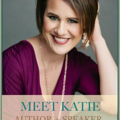 Author and Speaker Katie M. Reid of katiemreid.com