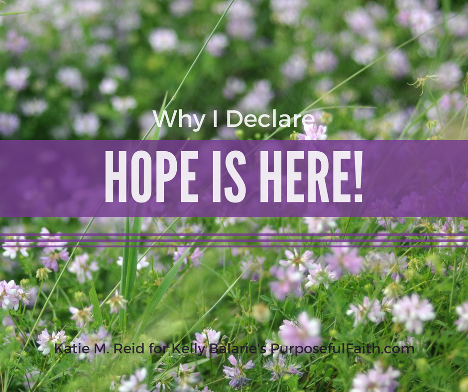 Hope is here by Katie M. Reid Photogprahy