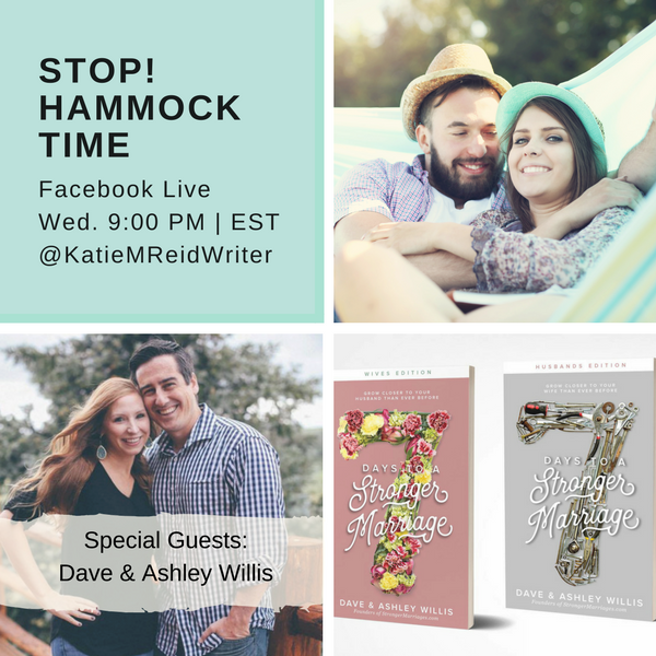 Stop! Hammock Time interview with Dave and Ashely Willis