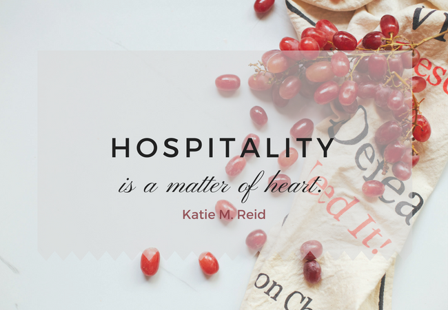 Hospitality and the Tightly Wound Woman