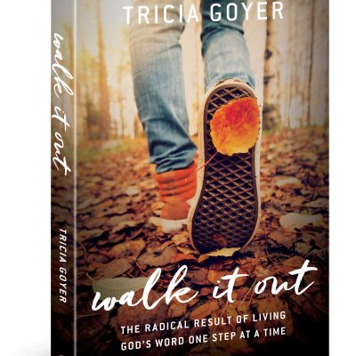Interview with Tricia Goyer: Author of Walk It Out