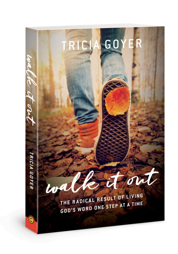 Walk It Out book by Tricia Goyer