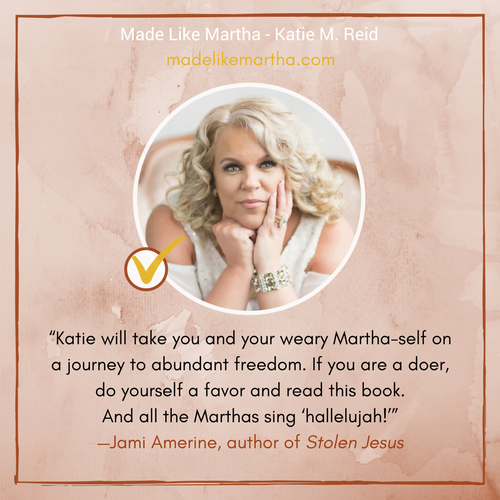 Jami Amerine's endorsement for Made Like Martha by Katie M. Reid