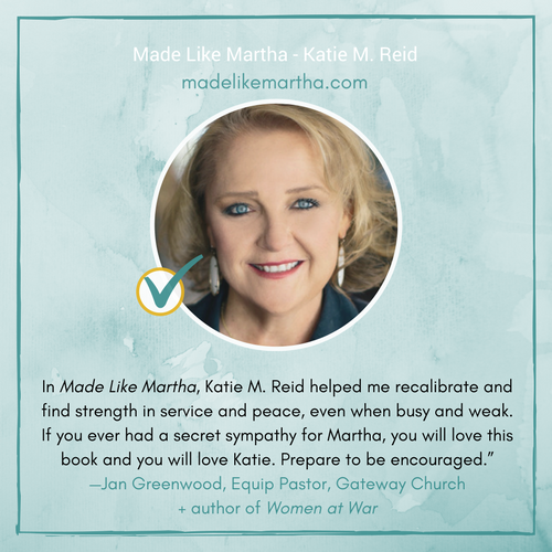 Made Like Martha Book Endorsement by Jan Greenwood author of Women at War