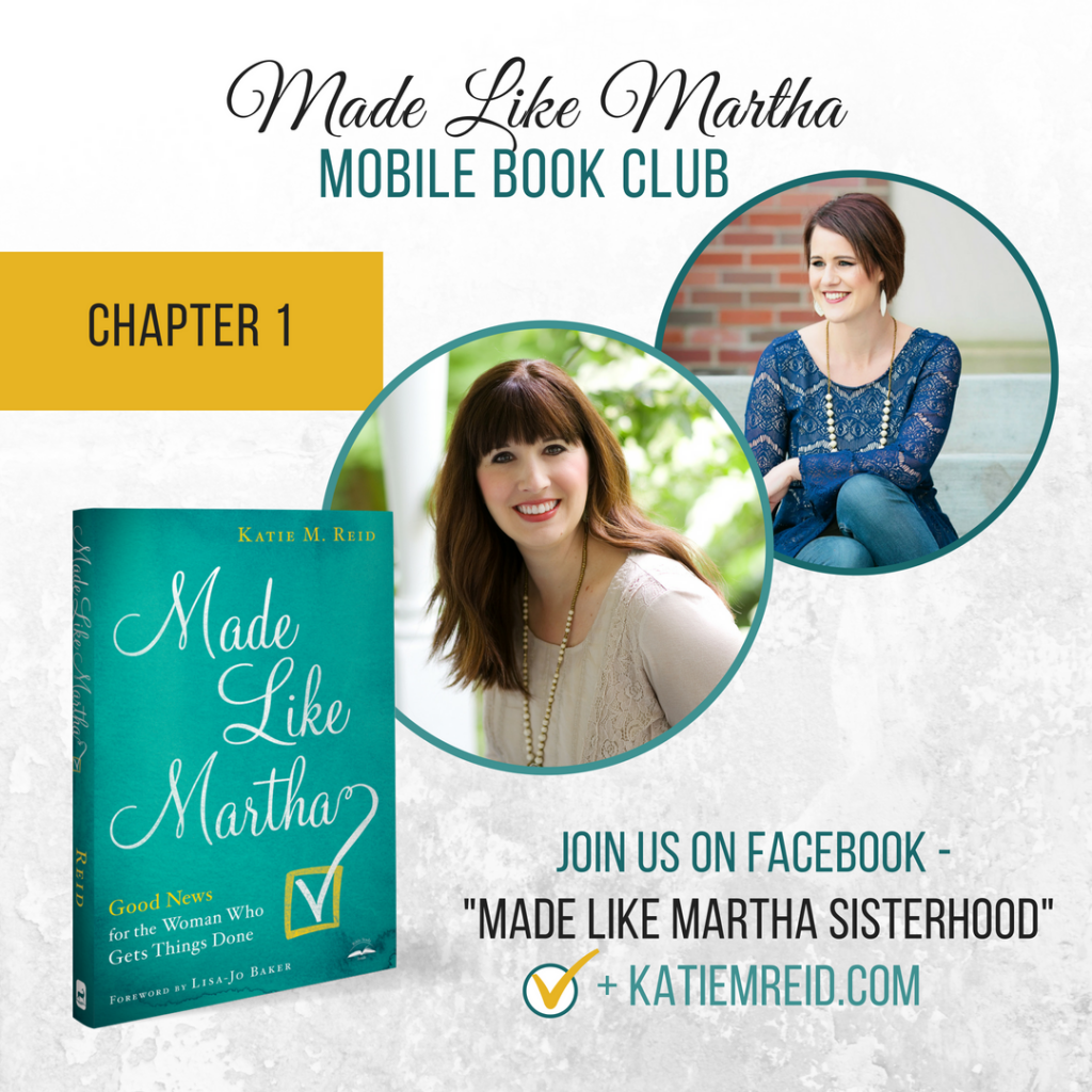 Made Like Martha mobile book club chapter 1 with Katie M. Reid and Vanessa Hunt
