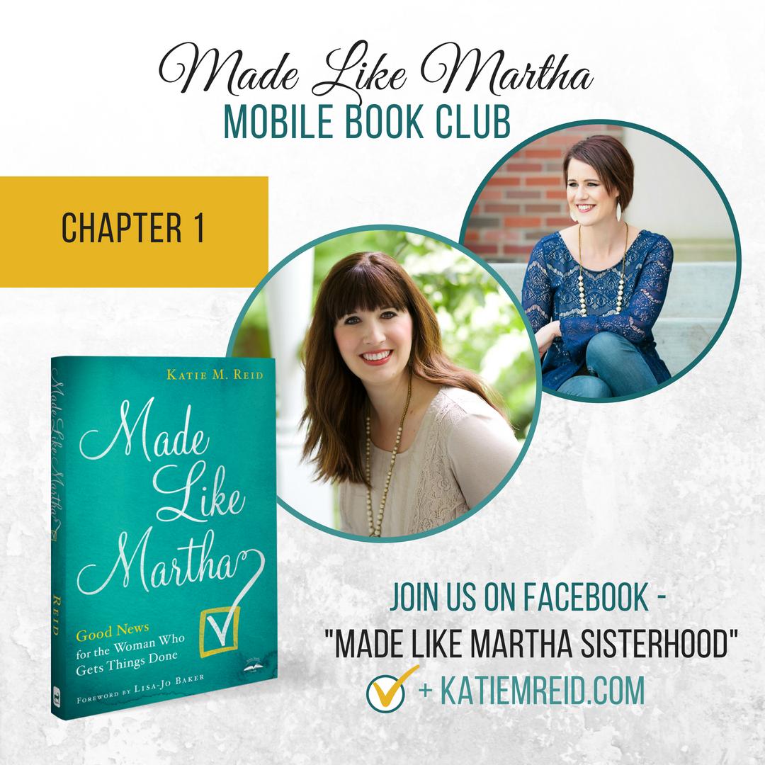 Made Like Martha Mobile Book Club (Chapter #1)