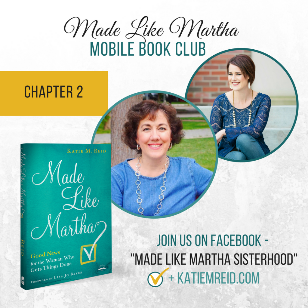 Made Like Martha Mobile Book Club Chapter 2 with Katie M. Reid and Betsy de Cruz