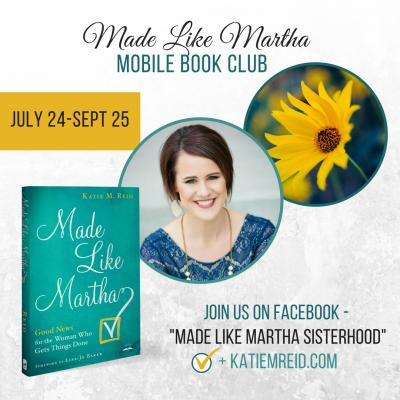 Mobile Book Club for Made Like Martha (Plus Team Martha Linkup)