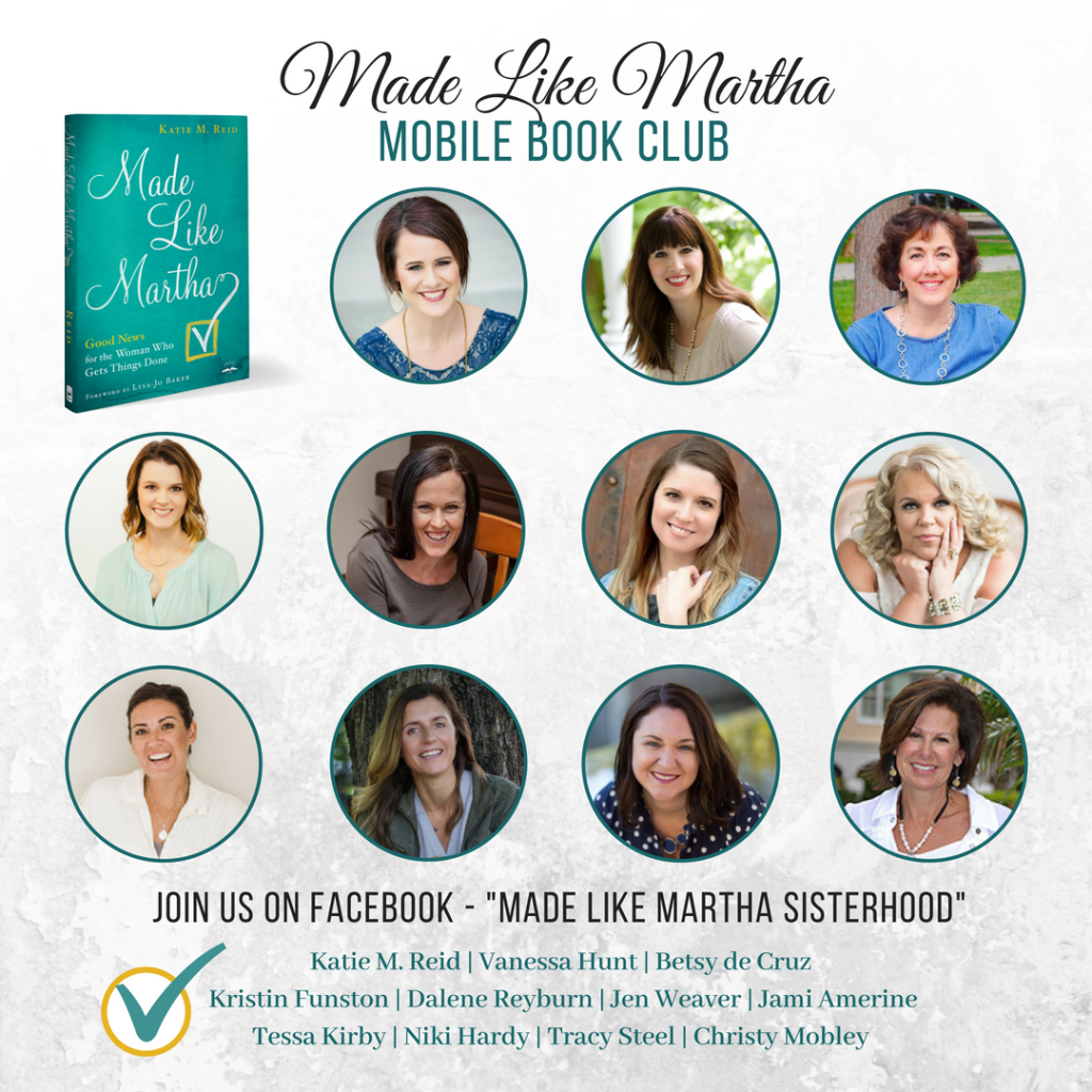 Made Like Martha mobile book club with Katie M. Reid