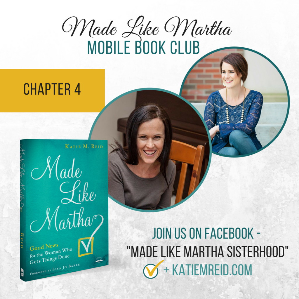 Martha Like Martha mobile book club with Katie M. Reid and Dalene Reyburn