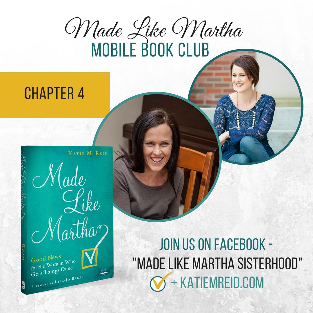 Made Like Martha Mobile Book Club (Chapter #4)