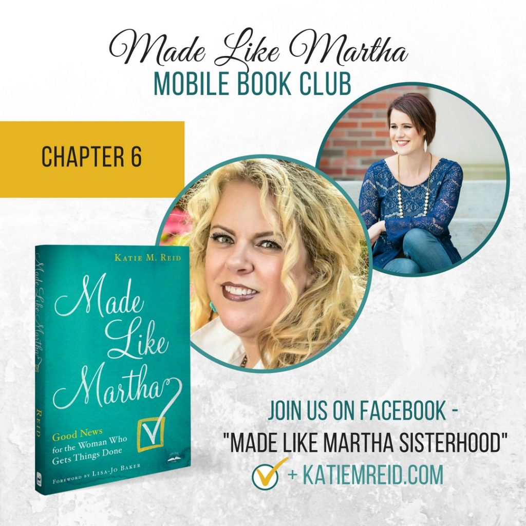 Made like Martha mobile book club Chapter 6 with author Katie M. Reid and Jami Amerine