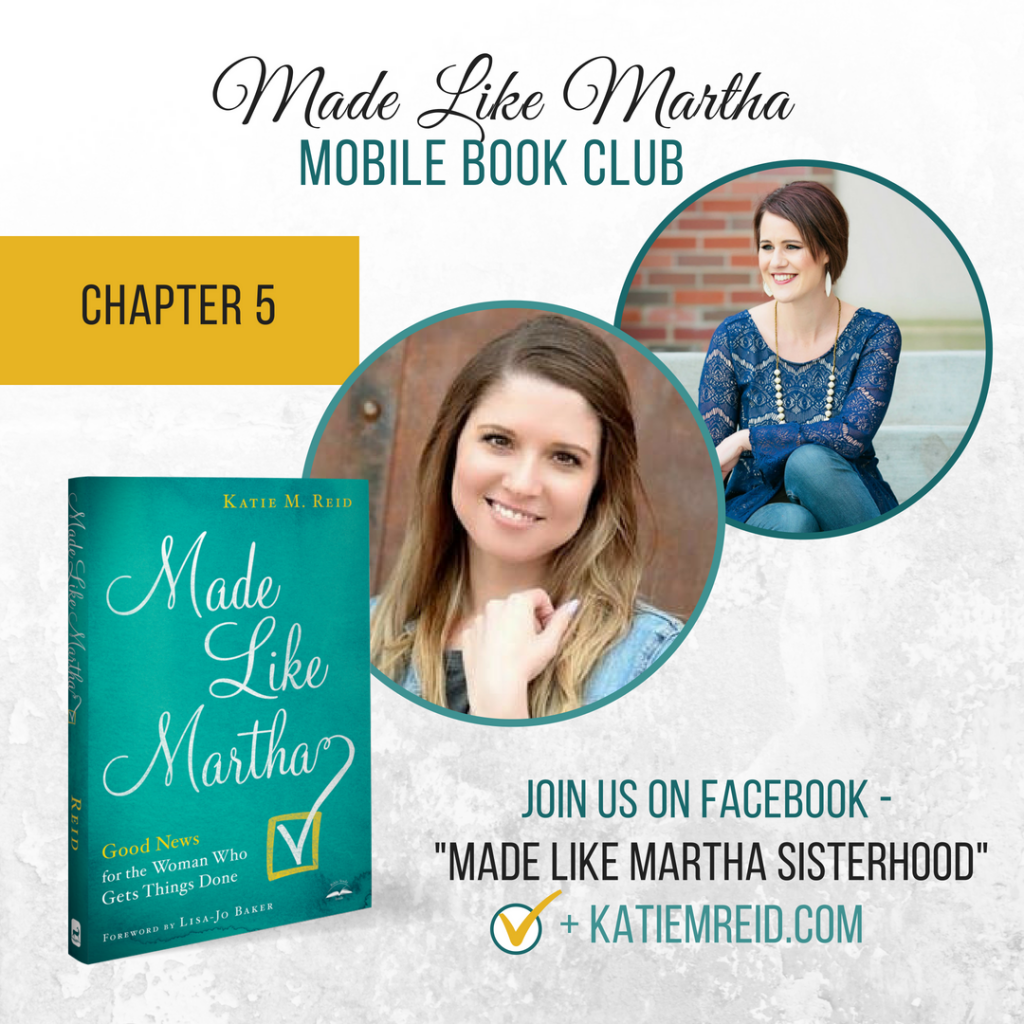 Made like Martha mobile book club Chapter 5 with authors Jen Weaver and Katie M. Reid