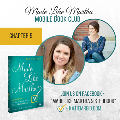 Made Like Martha Mobile Book Club (Chapter #5)