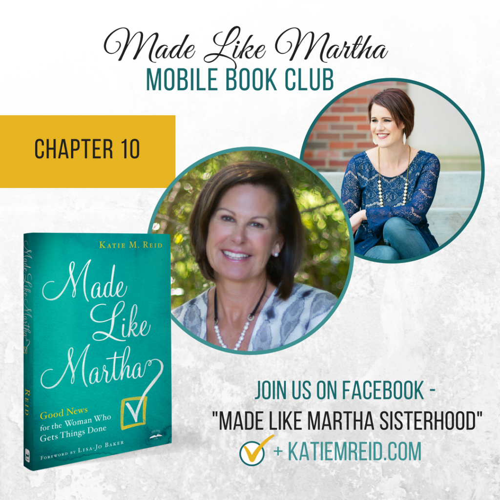 Made Like Martha mobile book club with Katie Reid and Christy Mobley Chapter #9