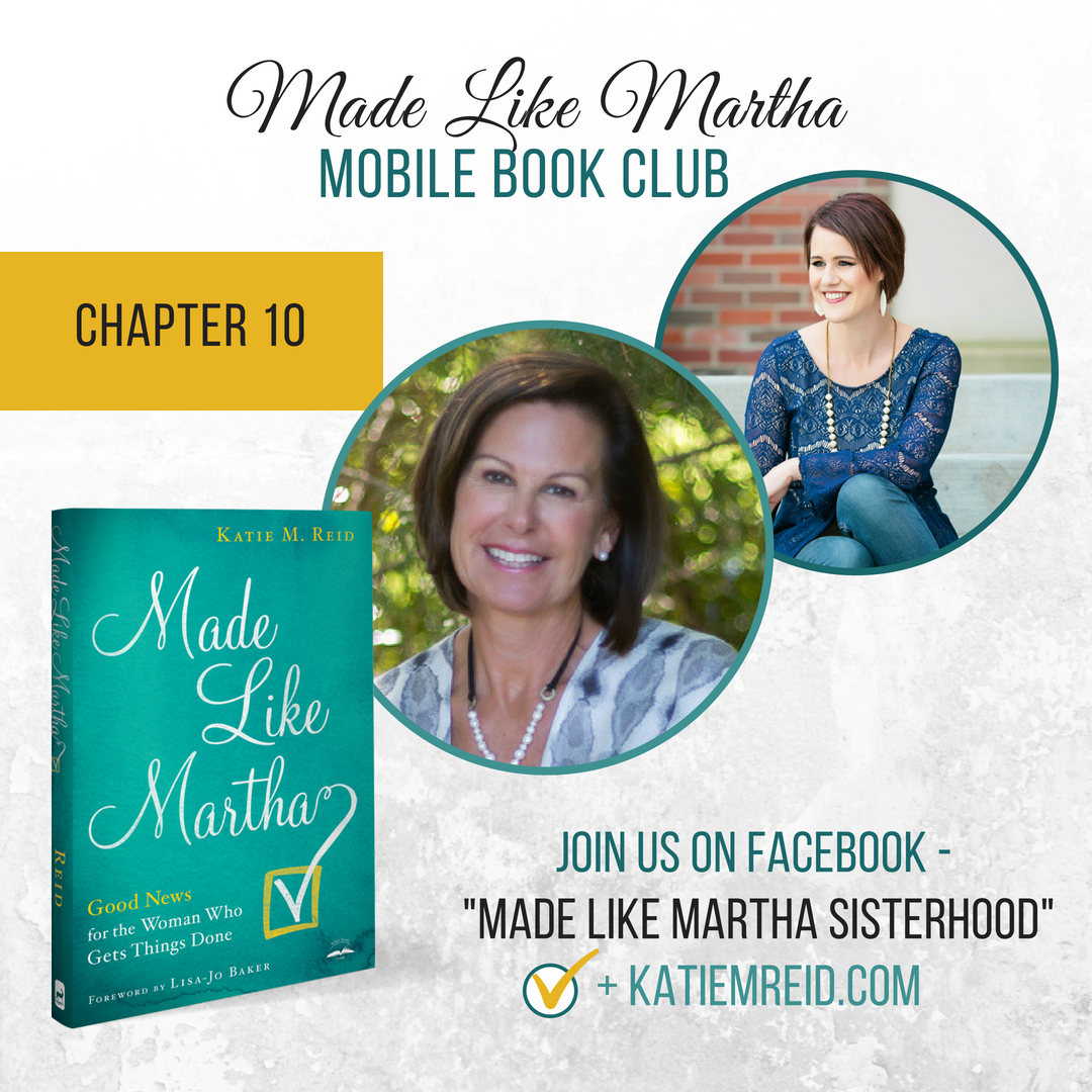 Made Like Martha Mobile Book Club (Chapter #10)