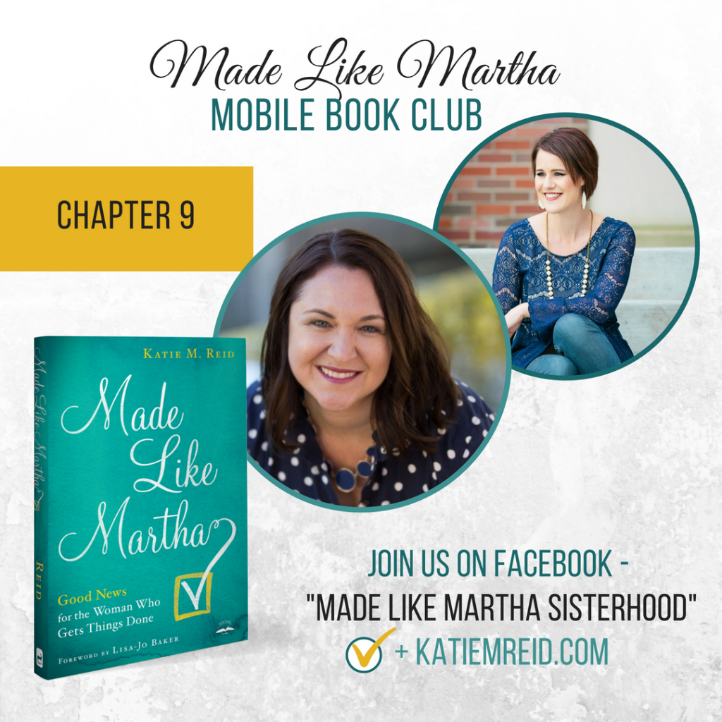 Made Like Martha mobile book club with Katie Reid and Tracy Steel Chapter 9