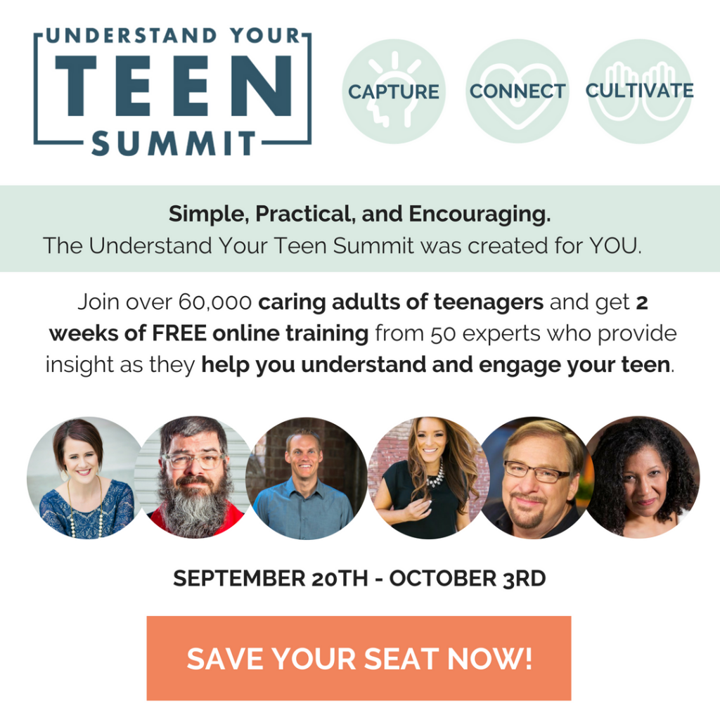 Understand Your Teen Summit by AXIS with Katie Reid, David Platt, Rick Warren, Bianca Olthoff